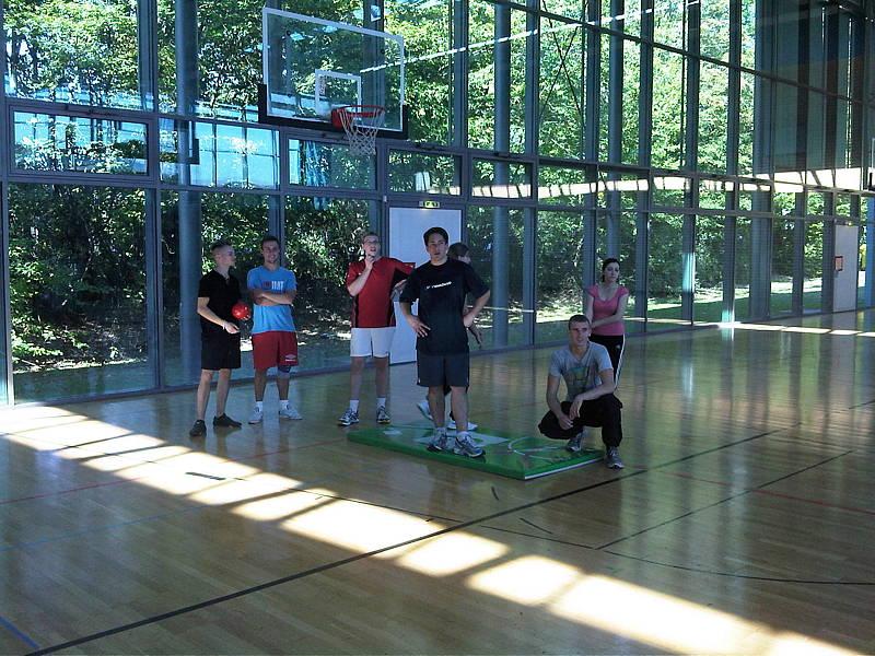Projektwoche Ballschule 1