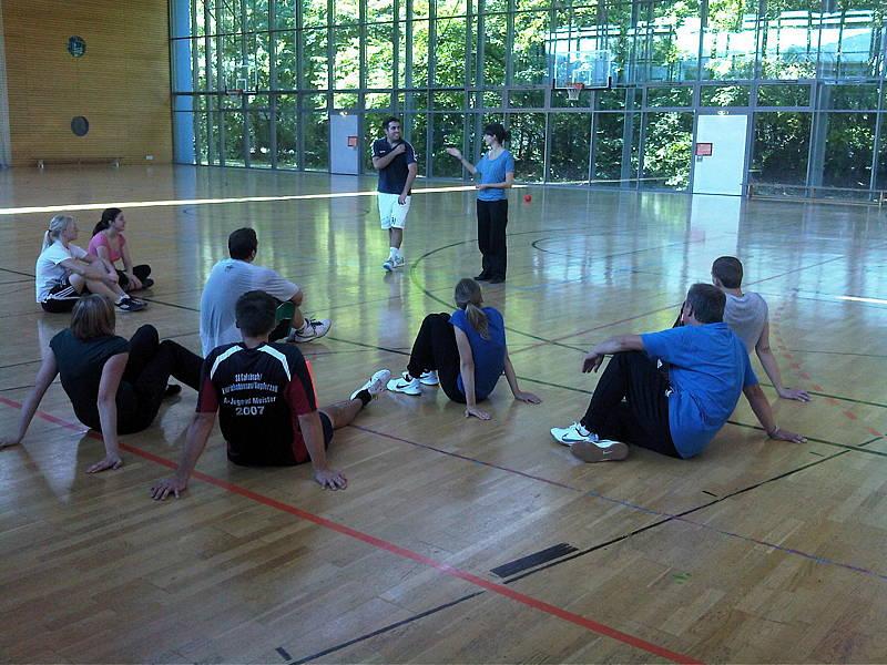 Projektwoche Ballschule 2
