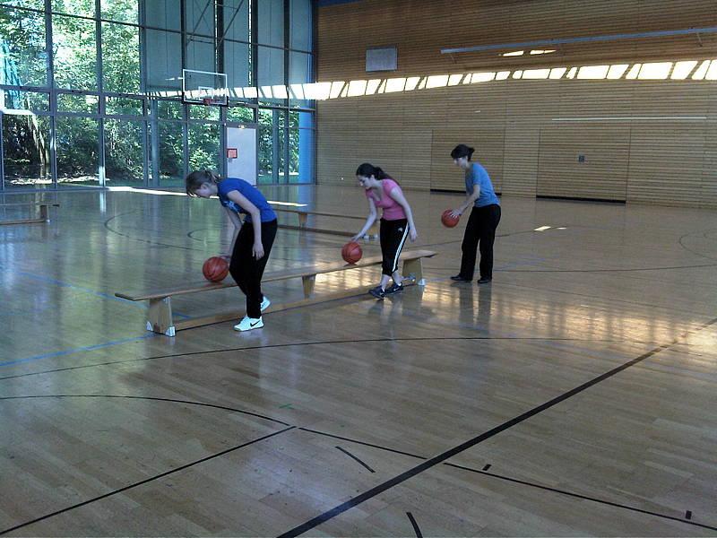 Projektwoche Ballschule 3