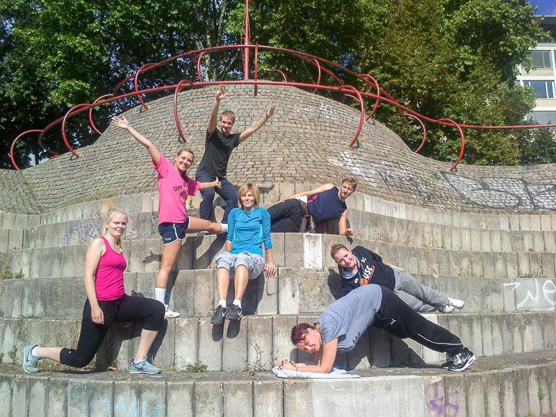 4 Fitness-Bericht Projekt Fitness