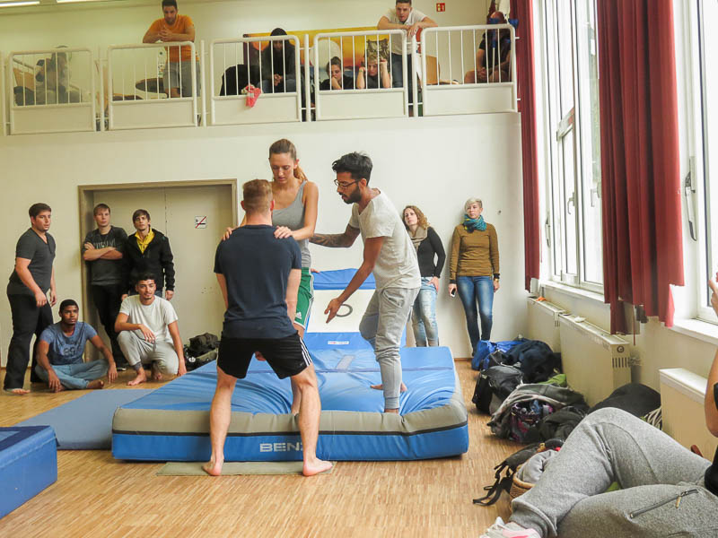 Le Parcours und freerunning-schule 563