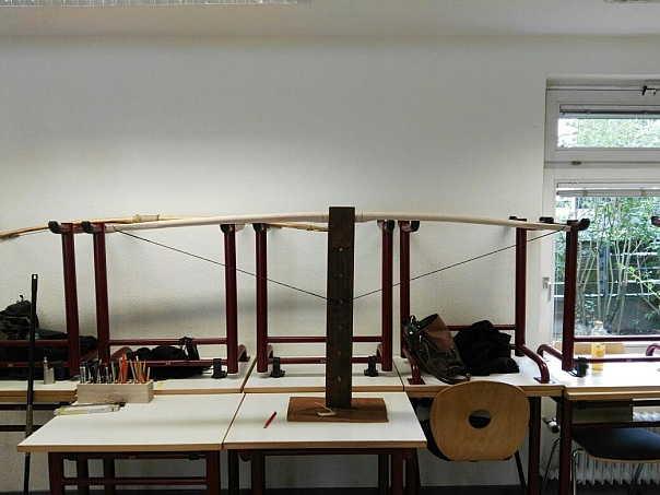 Traditioneller Pfeil- und Bogenbau-7